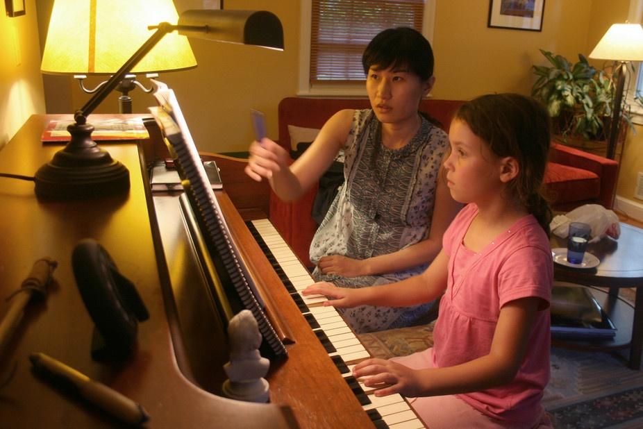 Esercizio al pianoforte